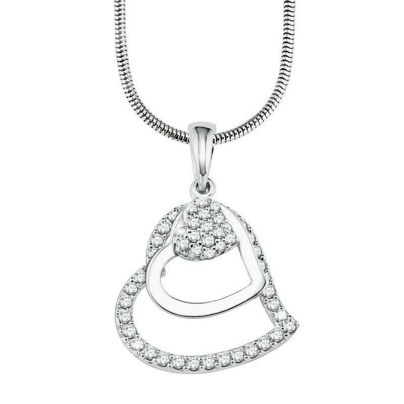 s oliver jewel femmes collier chaine argent
